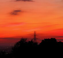 Sunset 03 29-09-09 by Sharon Perrett