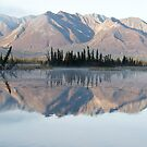 Reflections of Mentasta Mountains by Rick &amp; Deb Larson