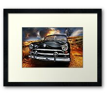 dirt road Framed Print