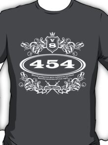 454 Cubic Inches... for the revhead intelligensia... T-Shirt