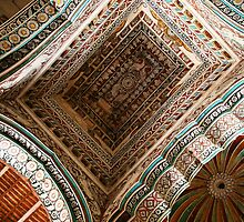 A Riot of Patterns, Domes & Vaults, Thanjavur Palace, India by Jane McDougall