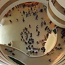 Yesterday at the Guggenheim, NYC by RonnieGinnever