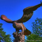 Eagle Statue by Richard Skoropat