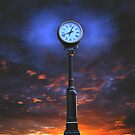 12:42 Clockscape Sunset by Richard Skoropat