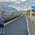 &quot;Train Buffs&quot; - Acela Express by Kingston  2009 AUG by Jack McCabe