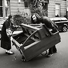 Pushing a Piano Down the Road by Ashleigh Helen Thomson