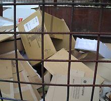 Cardboard Graveyard by JohnOlliver