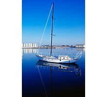 Yachting Blues Photographic Print