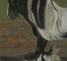 Sir Winston the Gypsy Horse by Gail Finger