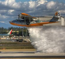 pby water drop by James Duffin