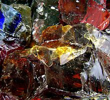 Glassy Igneous Rock by Dana Roper