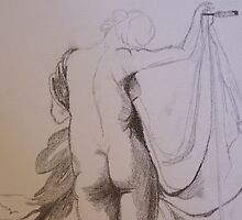 Female Nude from Behind by Sarah Bentvelzen