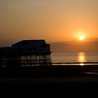 Blackpool Sunset North Pier by chris2766