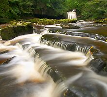 West Burton Falls by Jeanie
