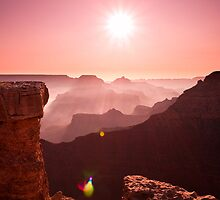 Mather Point, Grand Canyon by Ruby  Pen