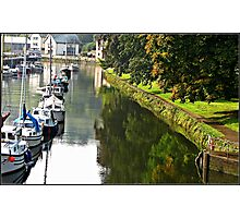 """The  River Dart at Totnes"" Photographic Print"