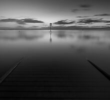Lytham Jetty Mono by Jeanie