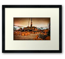 Lantern Sale Framed Print