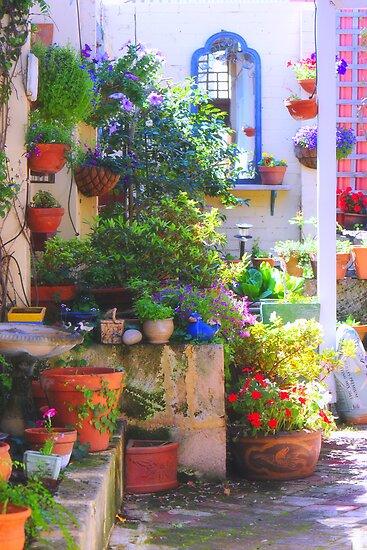 friends' garden by nadine henley