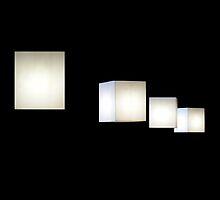 Cube lamps by Bluesrose