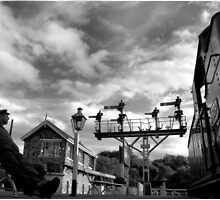 GROSMONT STATION by colinjones25