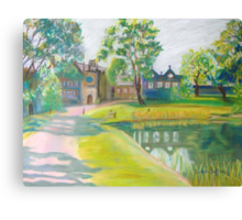 East Riddlesden Hall - First Impressions Canvas Print