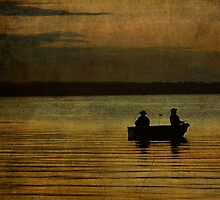 Late Night Fishermen by Steve Silverman