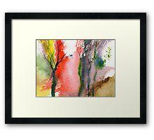 Love Birds 2 Framed Print