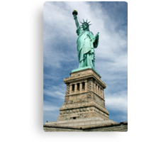 Statue of Liberty, New York, USA Canvas Print