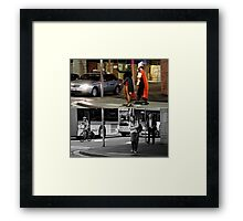 Like Night and Day - Heroes - 2009 Portfolio Project Framed Print