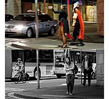 Like Night and Day - Heroes - 2009 Portfolio Project Photographic Print