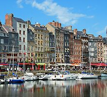 Portrait of Honfleur France by Lanis Rossi
