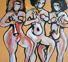 Dancing Women by Anthea  Slade