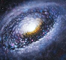 Black Eye Galaxy M64 by Jodi Stewart