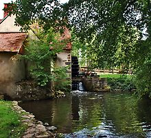 Le Moulin d'Angibault by Adri  Padmos