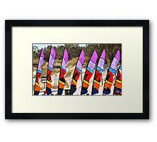 Flags Framed Print