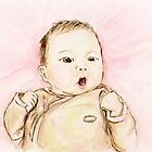 Baby Portrait by Claude Dia