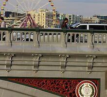 Mate, Who Put A Ferris Wheel On The Bridge? by David McMahon