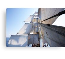 Under Full Sail Canvas Print