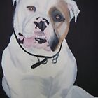 Dans dog painting by wendy1968