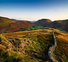Sunrise Over Patterdale by David Lewins