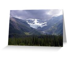 Faces of the Rockies Greeting Card