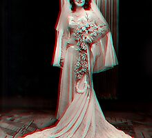 '1940's Bride' 3D by StarKatz