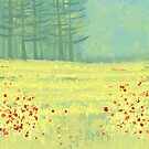 Meadow near Périgueux by squirrell