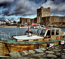 Carrickfergus Castle & Harbour ... by SNAPPYDAVE