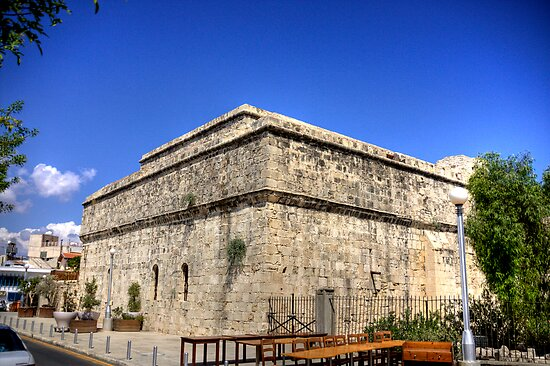 Limassol Castle by Tom Gomez