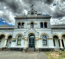 Municipal Memories - Clunes,Victoria - The HDR Experience by Philip Johnson