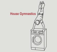 Washing Machine Handstand T-shirt by James R Ford