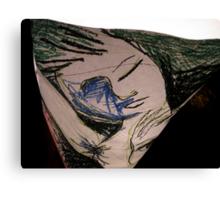 spacetime loop: Sunday Afternoon At Claude & Carl's Canvas Print