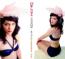 VFox Swimwear + Fascinators © shhevaun.com by Shevaun Steffens